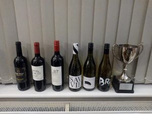 Wine prizes and trophy