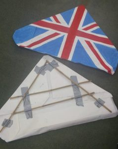 UK flag triangle