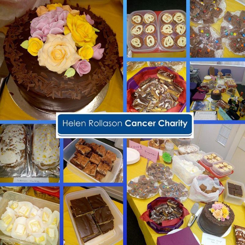 Lambert Chapman Cake Sale for Helen Rollason Cancer Charity