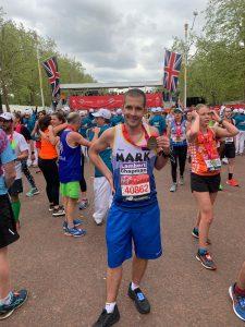 London Marathon for Helen Rollason Cancer Charity